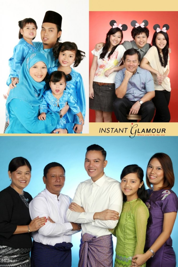 instant glamour photo studio singapore