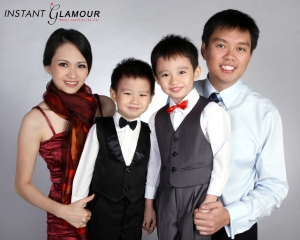 Family studio photo